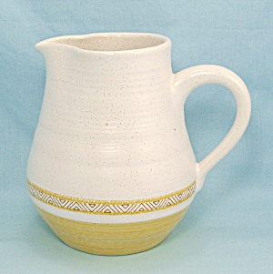Franciscan Hacienda Gold Pitcher, 32 Ounces