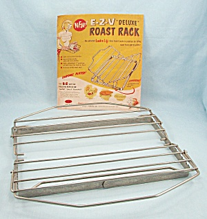E Z V - Roast Rack, Chrome Plated, Adjustable, Model No. 200