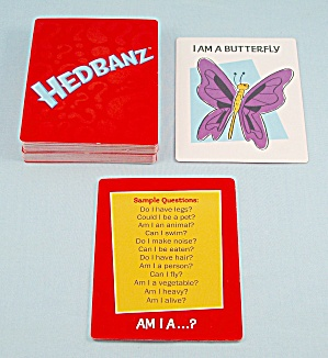 Hedbanz Game, Spin Master, 2010, 74 Replacement Cartoon Cards
