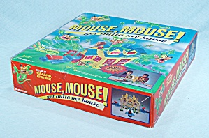 Mouse, Mouse Get Outta My House Game, Pressman, 1994