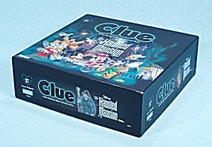 Clue, Disney, The Haunted Mansion Game, Pewter Tokens, 2004