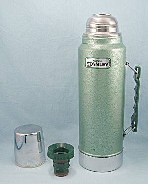 Aladdin Stanley Quart Thermos, Green, No. A 944 Dh