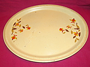 Hall Jewel T Autumn Leaf Oval Tray