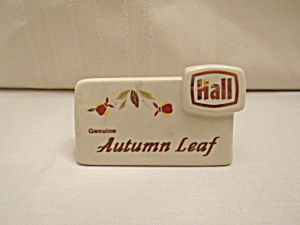 Hall Autumn Leaf Dealer Sign