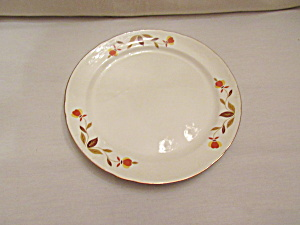 Hall Autumn Leaf Jewel T Luncheon Plate