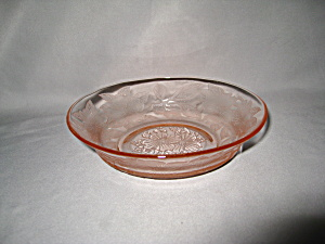 Pink Dogwood Depression Cereal Bowl