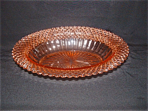 Pink Miss America Oval Vegetable Bowl