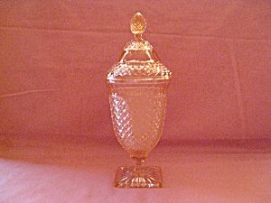 Pink Miss America Covered Candy Dish