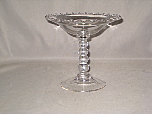 Candlewick 4 Bead Stem Compote