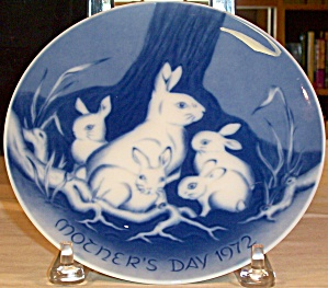 Mother's Day 1972 West German Collector's Plate