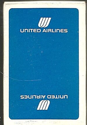 United Airlines Playing Cards-blue Box- Mint Condition