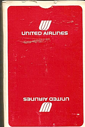 United Airlines Playing Cards-red Box- Mint Condition