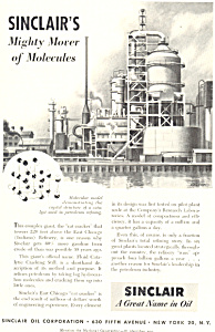 Sinclair's Cat Cracker At East Chicago Refinery