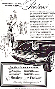 Wherever You Go People Know Packard Ad0686
