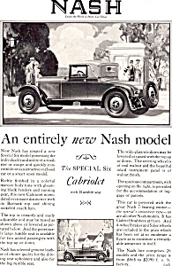 Nash Special Six Cabriolet With Rumble Seat