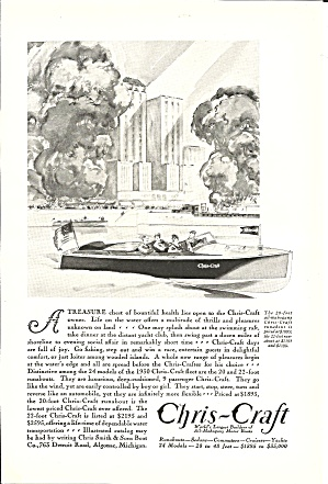 1930 A Lot Of Nostalgic Ads-candy,tires, Film, Boats,cruise Lines