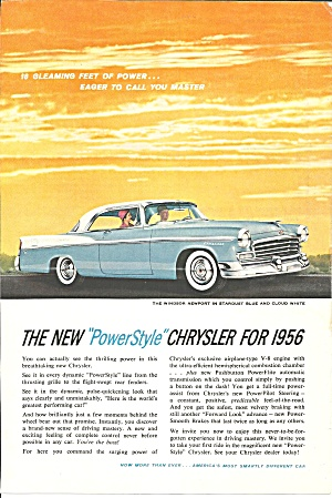 A Automobile Ad Lot; Chrysler, Dodge, Plymouth