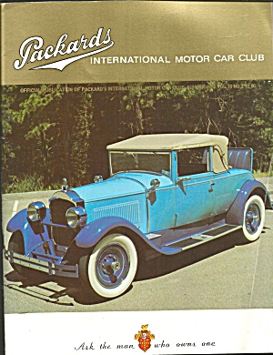Packards Interl Motor Car Club Magazine 1973 Vol 10, No.2 B2819