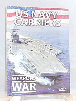 Us Navy Carriers Weapons Of War Dvd