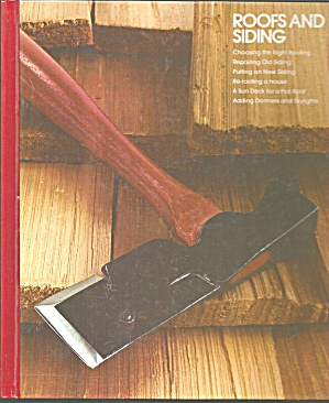 Roofs And Siding Time Life Books B3071