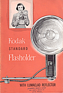 Kodak Standard Flasholder With Lumaclad Reflector