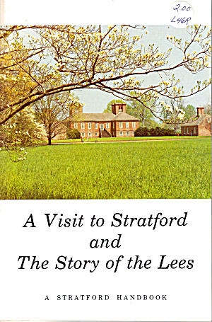 A Visit To Stratford And The Story Of The Lees Bk0167