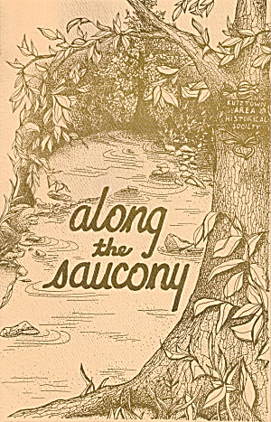 Along The Saucony 1993 Publication Of Kutztown Pa Area Bk0193