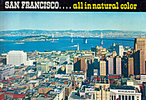 San Francisco. Ca All Innatural Color. Bk0257