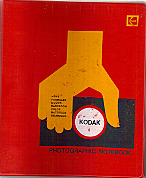 Kodak Photgraphic Notebook
