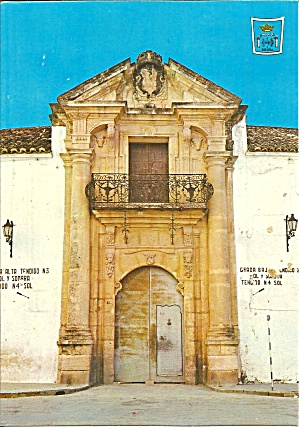 Ronda Malaga Spain Principal Door Bull Fighting Cs11722