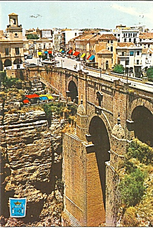 Ronda Spain The New Bridge Cs11745