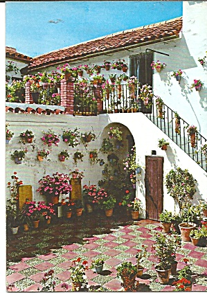 Marabella Spain Typical Patio Cs11751