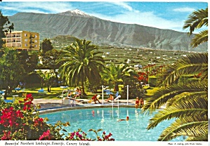 Tenerife Canary Islands Northern Landscape Cs11766