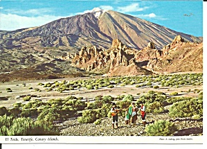 Tenerife Canary Islands El Teide Cs11767