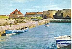 Beadnell England Harbor And Lime Kilns Cs11770