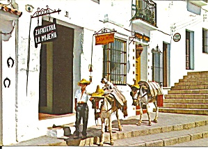 Mijas Spain Typical Corner Cs11785