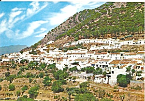 Mijas Spain Partial View Cs11786