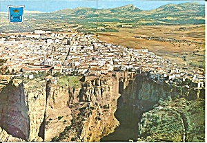 Ronda Spain Partial View And Tajo Cs11861