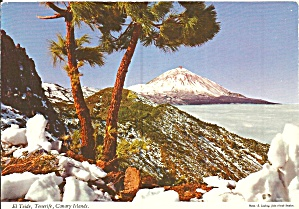 Tenerife Canary Islands Sea And El Teide Cs11882