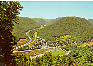 Us 15 Over Stream Valley Mountain Postcard Cs6736