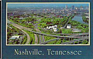 Intersection Of I 24 I 65 And I 40 Nashville Postcard Cs6808
