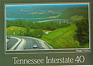 I 40 Waverly Camden Tennessee Postcard Cs6826