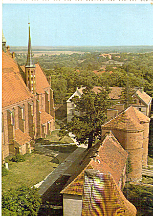Cathedral In Frombork Poland