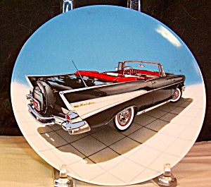 1957 Chevrolet Bel Air Convertible Collector Plate