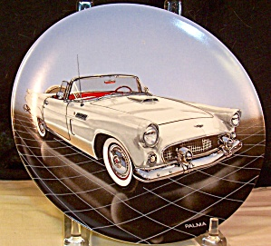 1956 T Bird Convertible Collector Plate
