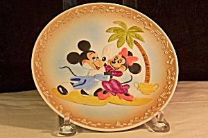 Mickey And Minnie At The Dance Collector Plate