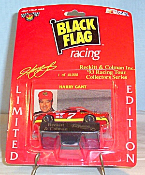 Harry Gant #7,diecast 1:64 Black Flag Promo Package
