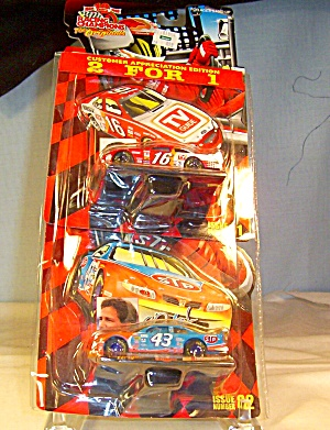 Racing Champions #16 And #43 1:64 Nascar Diecast