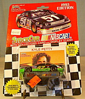#42 Kyle Petty Mello Yellow Diecast 1:64 Racing Champio
