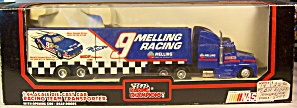 #9 Bill Elliott Melling Racing Nascar Transporter